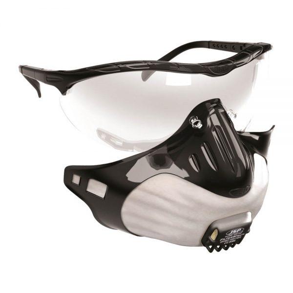 Glasses Mask Combo FFP3 PPE