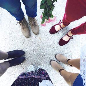 elite women escorts wearing shoes