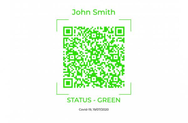 Green QR Code Status