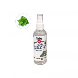 Sanitiser Spray Mint Fragrance - Handbag size 100ml