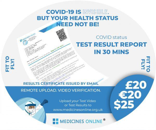 Results Certificate Antigen Test